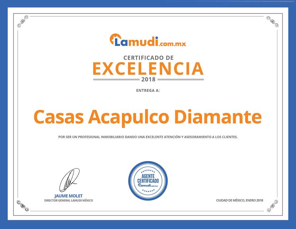 Certificado Lamudi