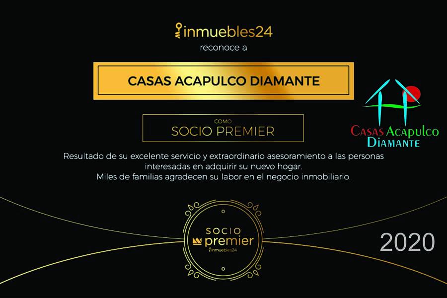 Certificado Inmuebles 24