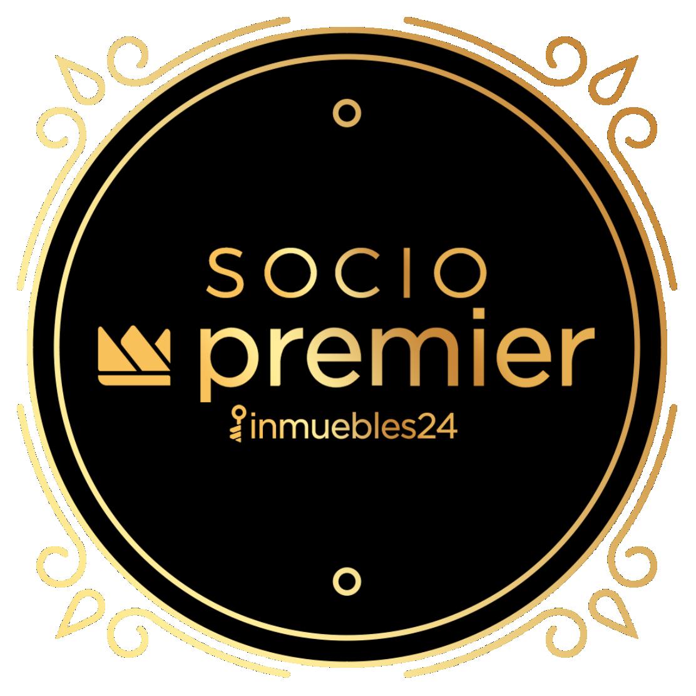 Socio Premier Inmuebles 24