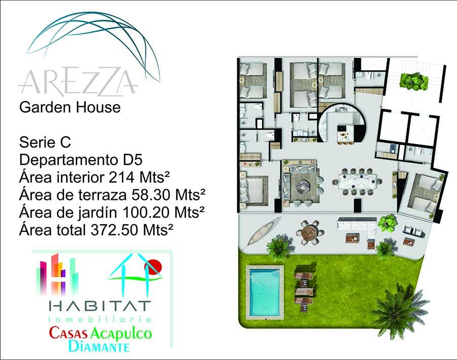 Arezza - Tres Vidas Acapulco Garden House