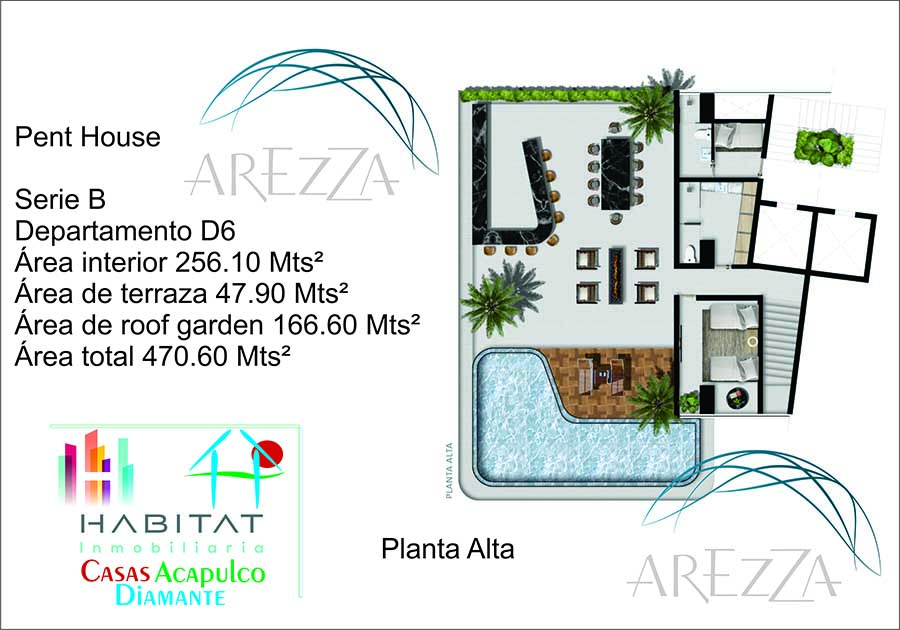 Arezza - Tres Vidas Acapulco Pent House