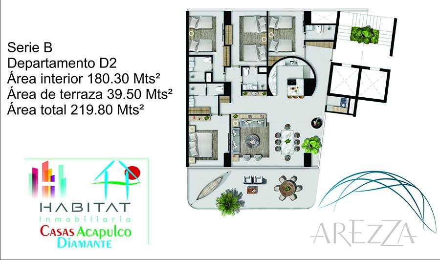Arezza - Tres Vidas Acapulco