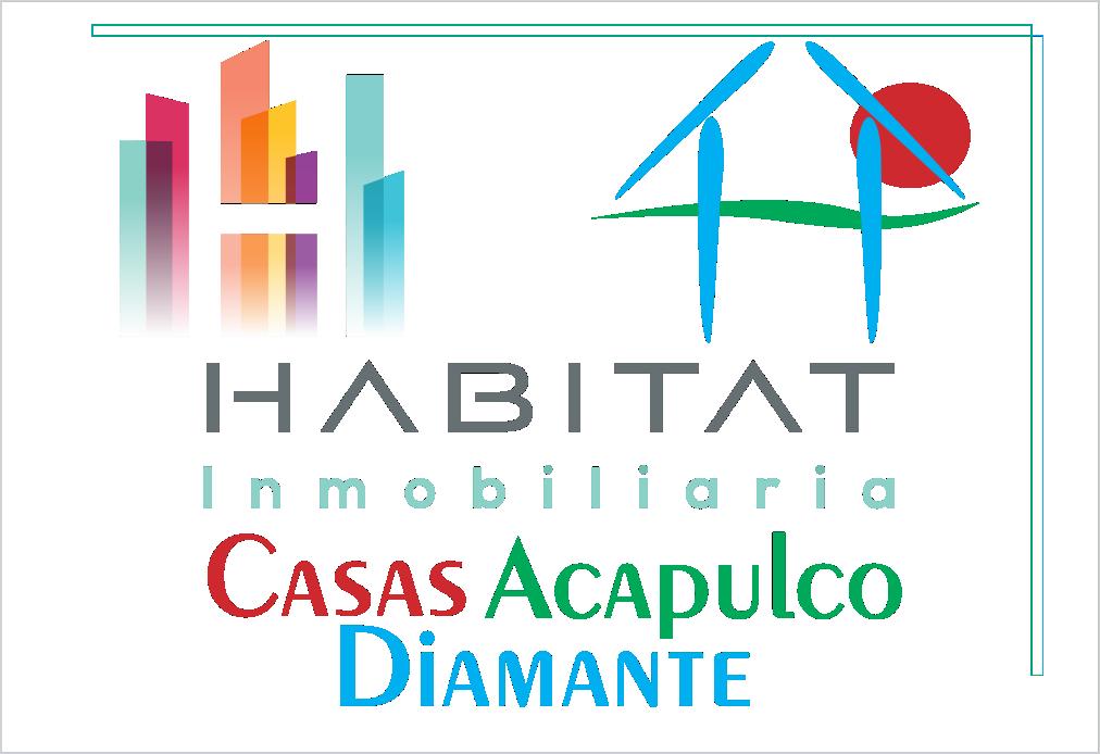 Logotipo Casas Acapulco Diamante - Habitat